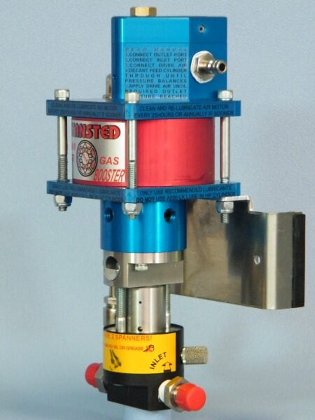 DTB5C - Unique Diving Gas booster for CCR and Open circuit divers